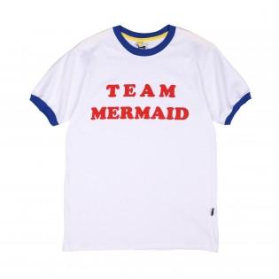 藍色 team mermaid tee