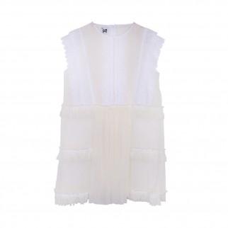 白紗仙氣外套裙