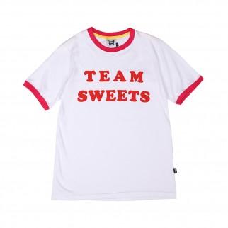 粉紅色 team sweet tee
