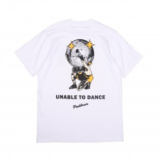 白色 Unable To Dance Tee