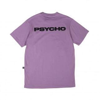 紫色純文字 Psycho Tee