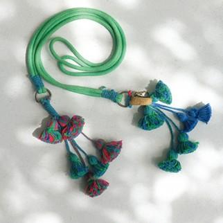 綠色蘇蘇繩帶