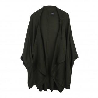 綠色蝙蝠袖針織外套