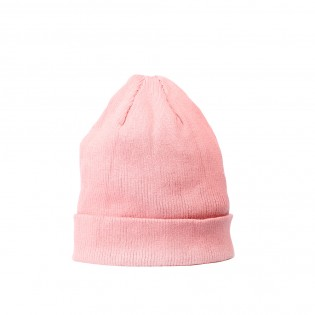 粉紅色百搭針織冷帽