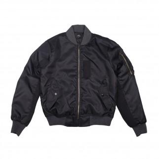 黑色 MA-1 雙色外套