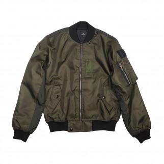 綠色 MA-1 雙色外套