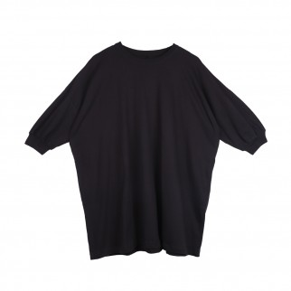 黑色Oversized 簡約Tee 裙