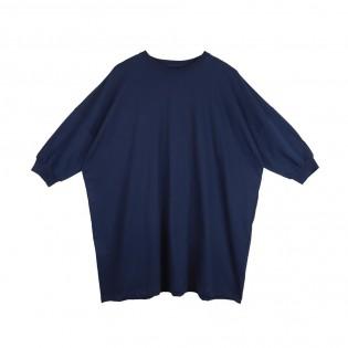 藍色Oversized Tee裙
