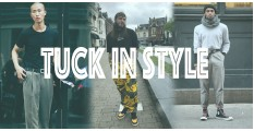 紮進褲子的潮流-Tuck in Style