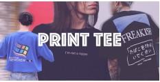 不可不知-三款熱門Print Tee元素