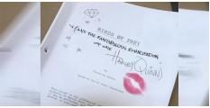 「小丑女」獨立電影即將開拍!性感脣印透露回歸機密!