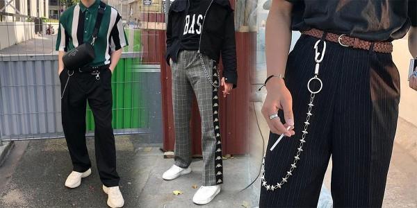 「MK」潮流終成皇道!?鐵腰鍊穿搭回歸主流!韓系街頭風格必備!