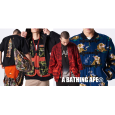 猿人迷彩強勢來?A BATHING APE® 2019 春夏 Lookbook 發怖!