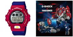 會變型的G-SHOCK!?35周年 G-SHOCK X 變形金剛 限量紀念套!