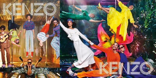 藝術的化身!KENZO 2019 春夏廣告!超現實風格令人震驚!