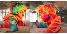 Louis Vuitton 時裝週前瞻!Virgil Abloh 分享LV最新彩色巨人佈置!