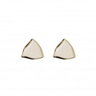 stylenanda同款三角浮邊耳環