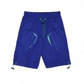 藍色風褸料防水短褲