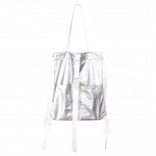 銀色洗水紙布兩用索繩袋