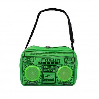 螢光綠喇叭袋