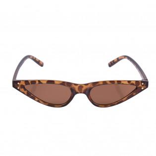 豹紋時尚三角貓眼眼鏡
