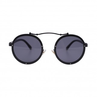 黑色圓框個性太陽眼鏡