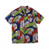 大樹葉夏威夷恤衫