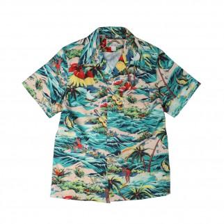 開心滑浪夏威夷恤