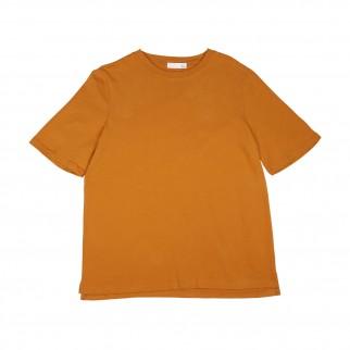 橙色純色Tee