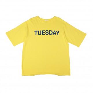 黃色Tuesday Tee