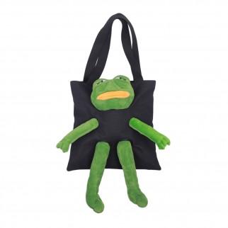 憂鬱青蛙側咩手挽袋